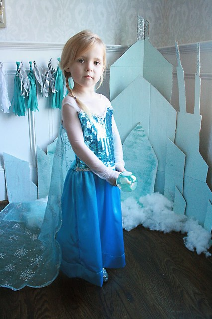 frozen elsa dress for birthday party or halloween
