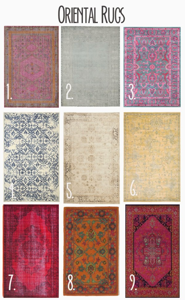 oriental persian rugs selection by Darleen Meier