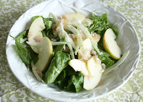 Apple Fennel Salad || Darling Darleen