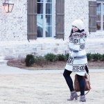 Boho Casual Winter Coat