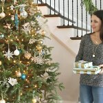 Indoor Christmas Decorations + Holiday Baking