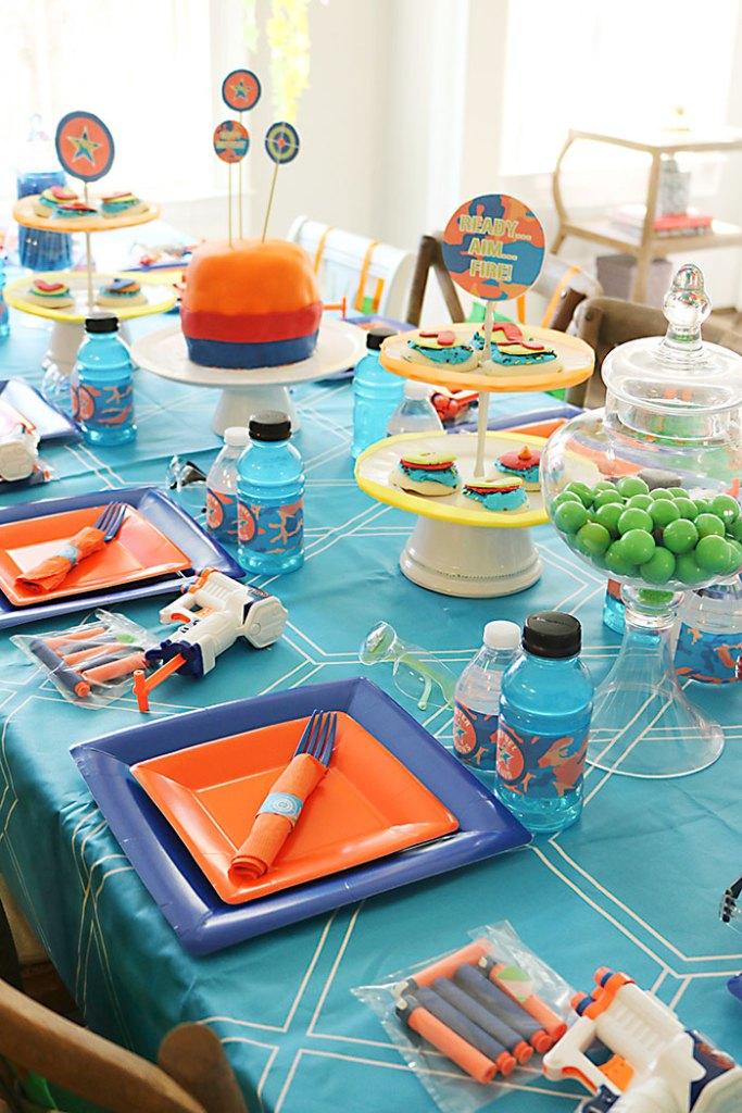 nerf-gun-birthday-cake