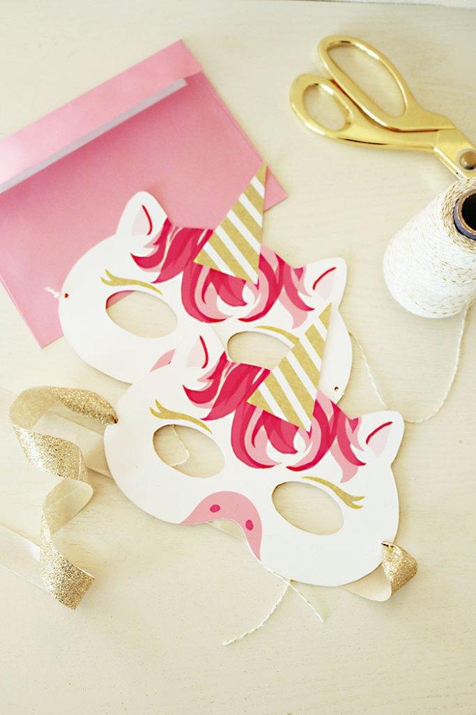 unicorn-mask-invitation-free-printable