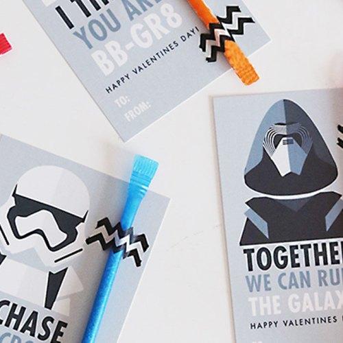 Star Wars Valentines : The Force Awakens