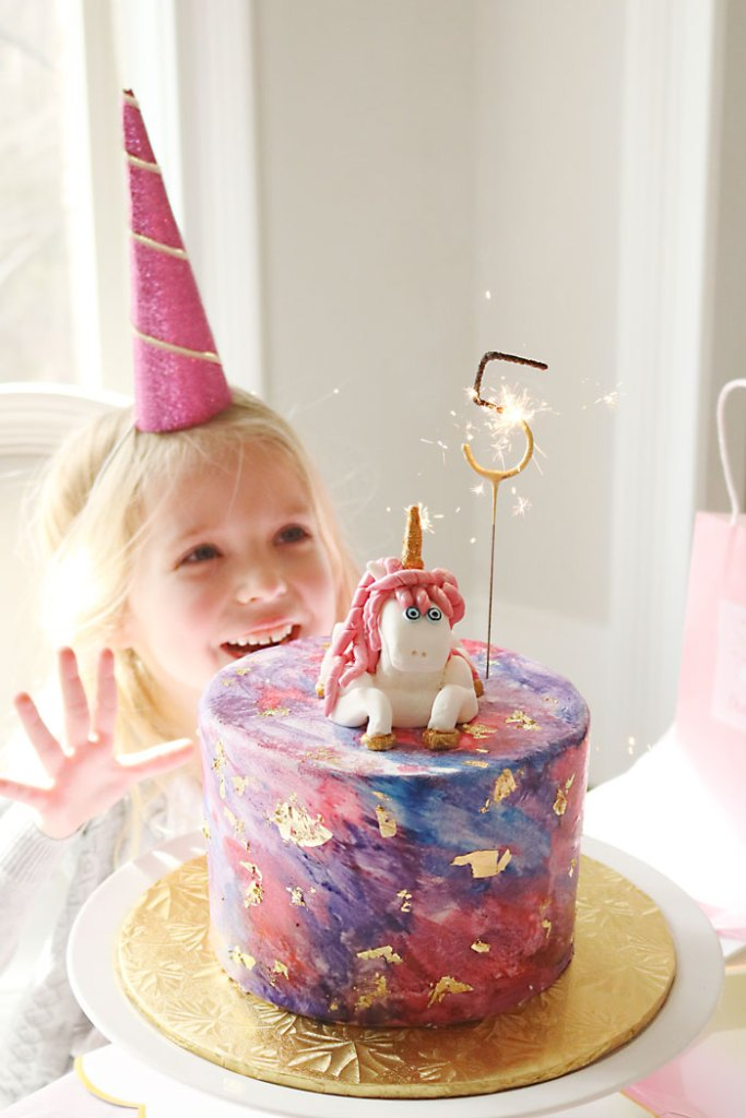 unicorn-birthday-party-lighting-the-cake