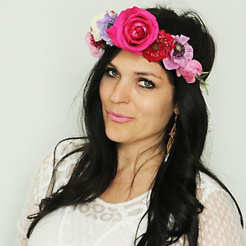 DIY How to Make Flower Crown — One Size Fits All