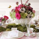 Indoor Garden Tea Party for a Shower