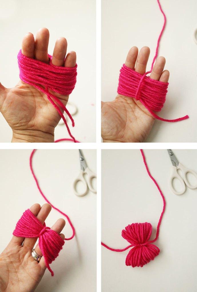 diy-pom-pom-yarn-bag-step2