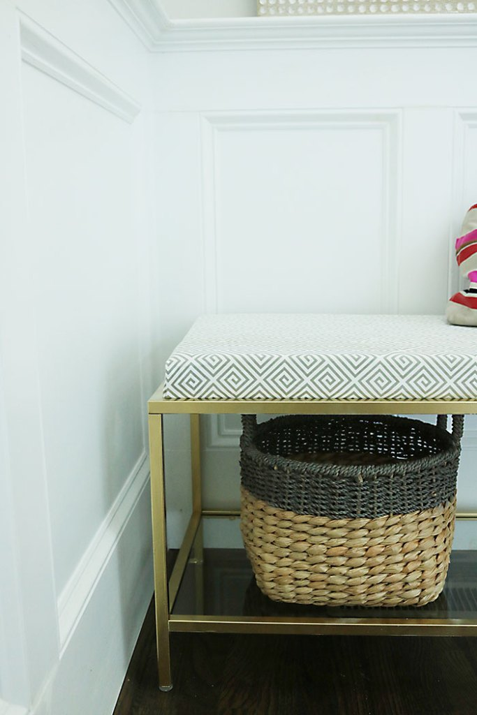 metal-bench-with-cushion-fretwork-fabric