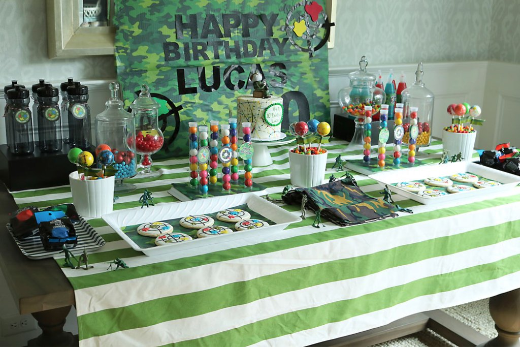 paintball-birthday-party-dessert-table
