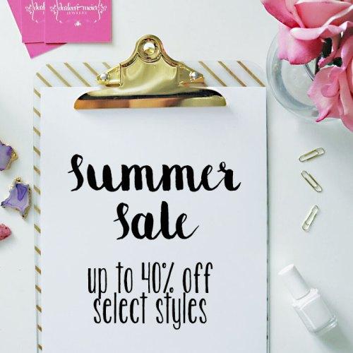 Summer Sale Starts Now!
