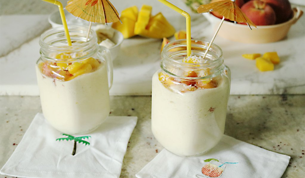 Coconut Cream Tropical Smoothie