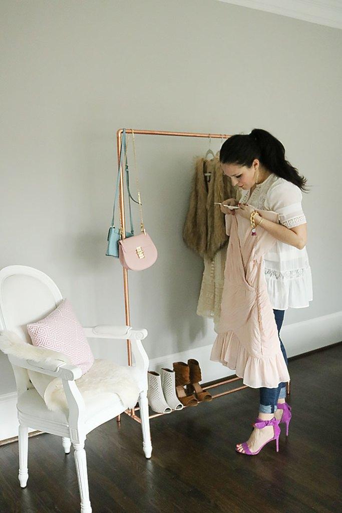 Diy Copper Clothing Rack Darling Darleen A Lifestyle