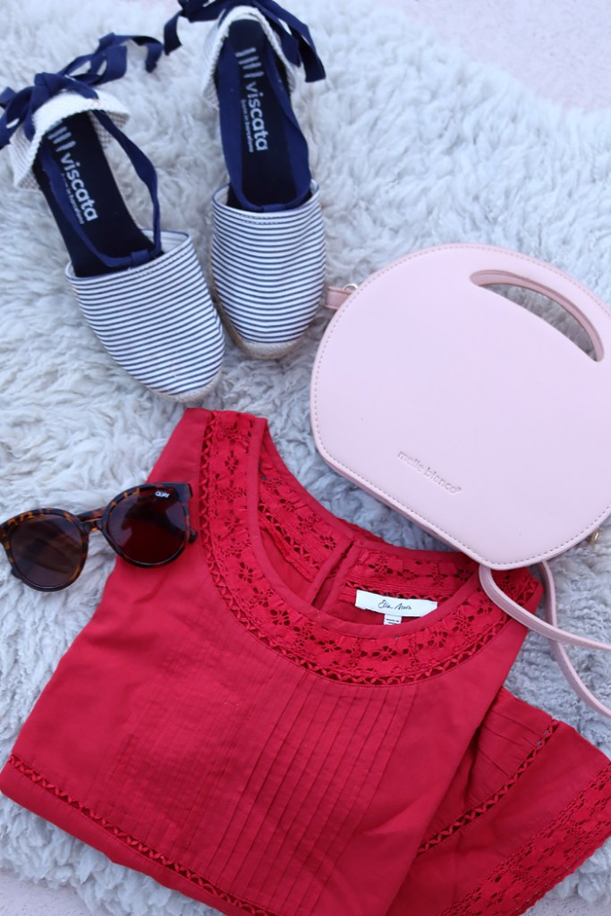 amazon prime day, viscata espradilles, lace shirt, quay sunglasses, amazon, sales and deals