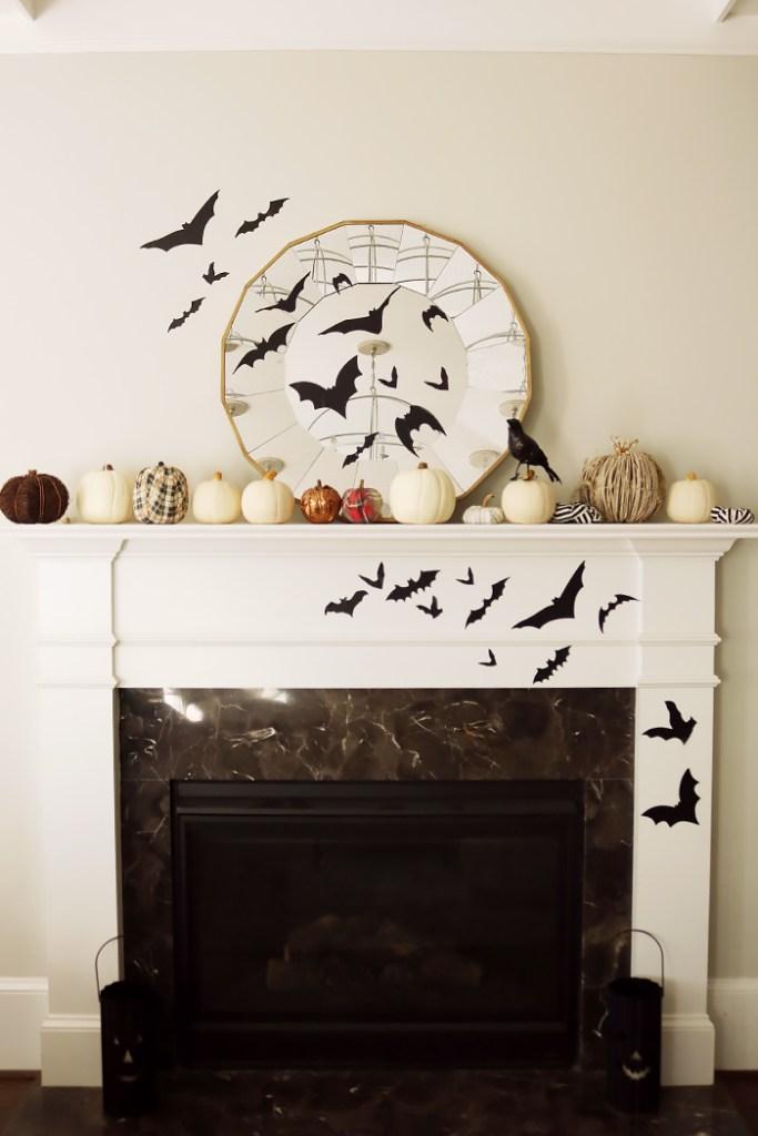 easy halloween decorations, halloween decorations, halloween in the house, halloween party, martha Stewart Halloween, diy halloween decorations.