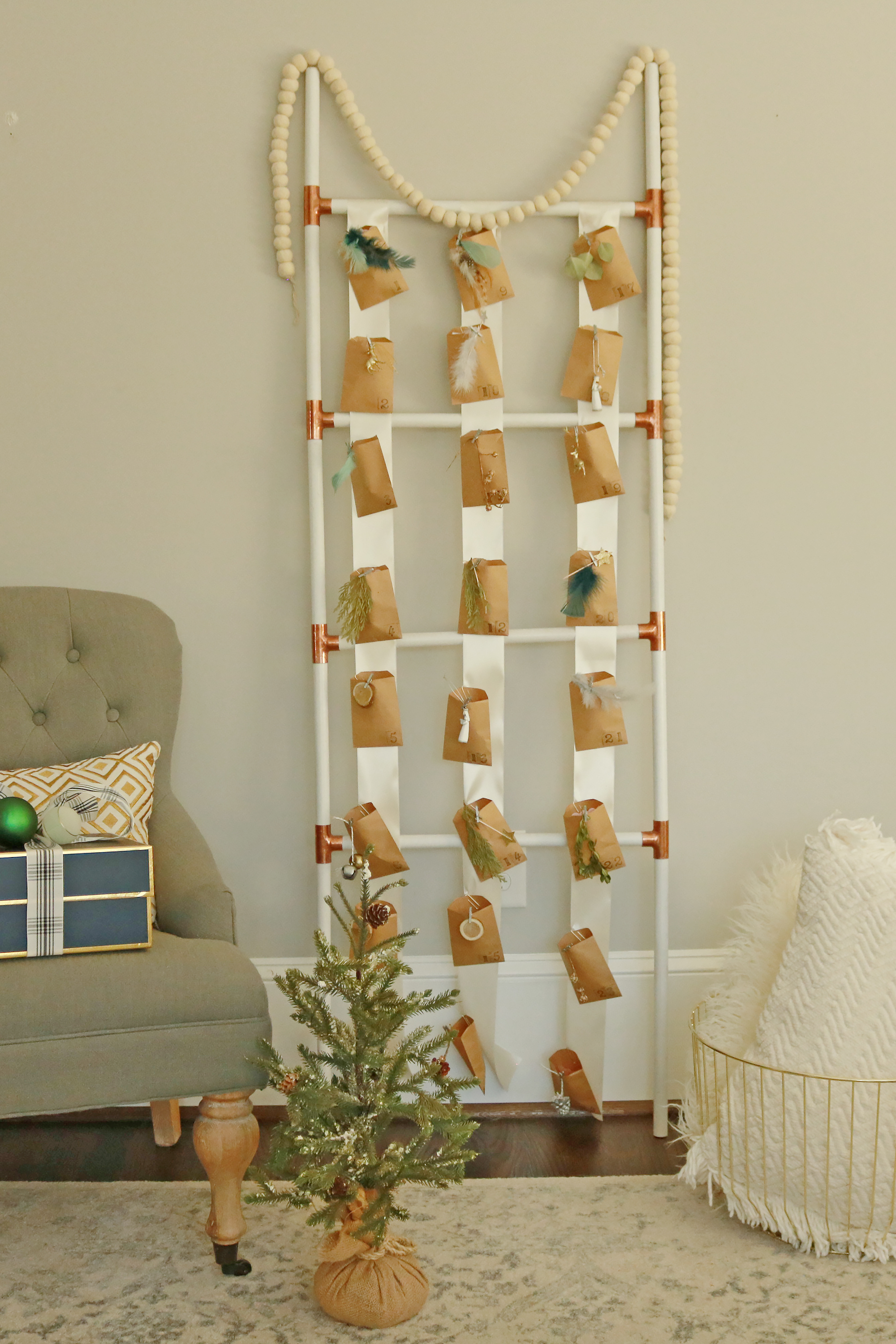 Advent Christmas Calendar Ladder