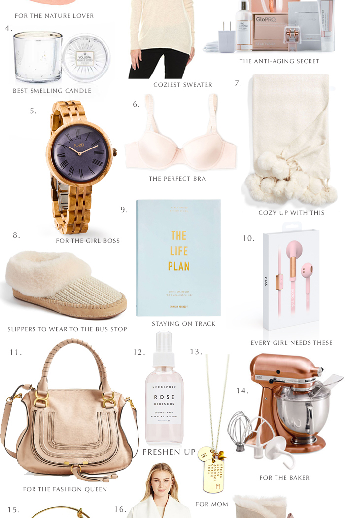 holiday gift guide for her, for all the ladies, the every girl, gift ideas