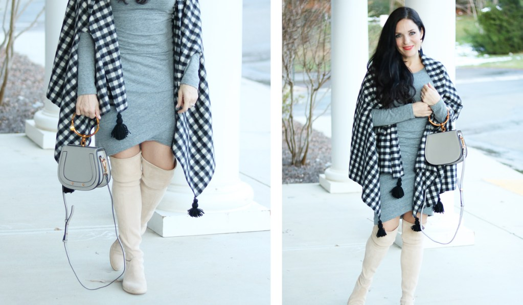 Cape Scarf Outfit