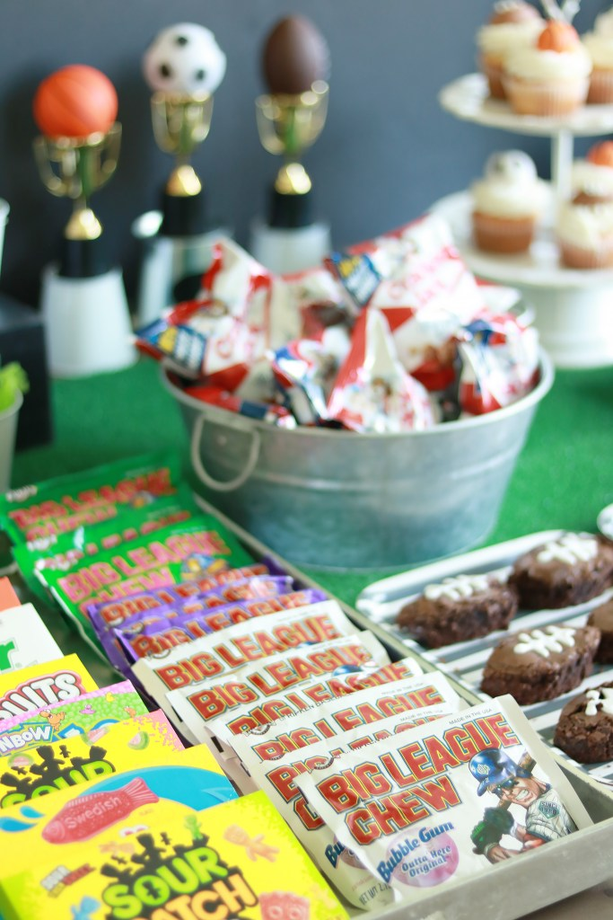 Sports Themed Birthday Party, Concession Stand Ideas || Darling Darleen