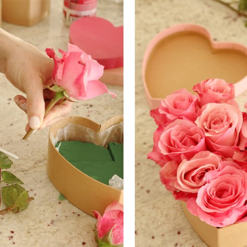 Heart Shape Flower Box