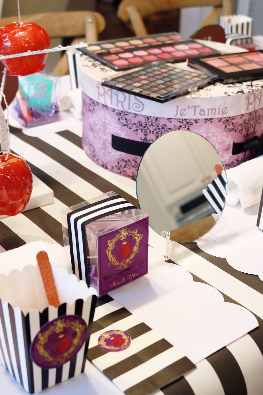 Descendants Birthday Make Up Party || Darling Darleen