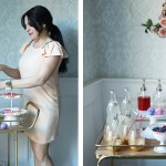 Simple Valentine Bar Cart