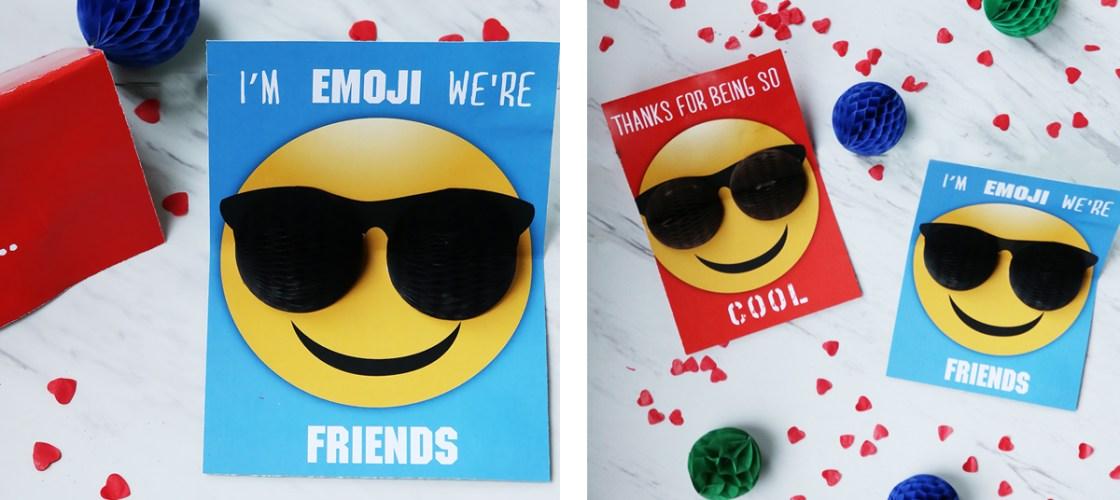 Valentine Emoji Pop Up Card