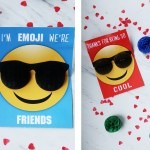 Valentine Emoji Pop Up Card