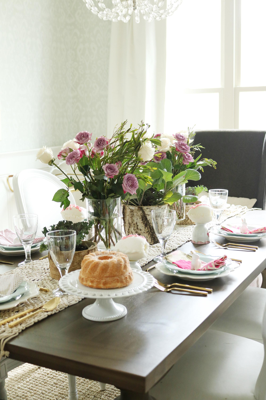 Garden-Inspired Easter Table || Darling Darleen