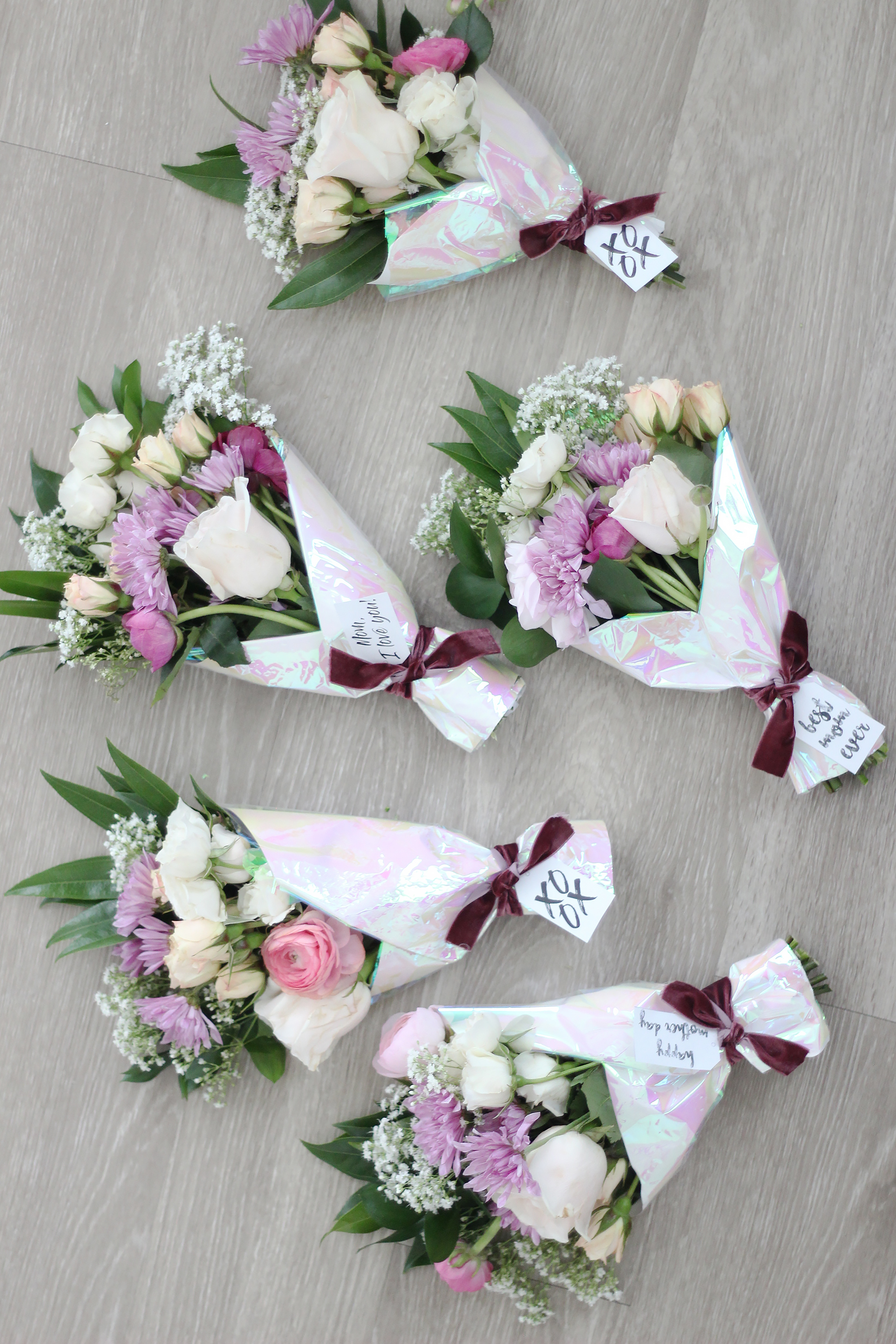 Mother\'s Day Mini Flower Bouquet - Darling Darleen | A Lifestyle ...