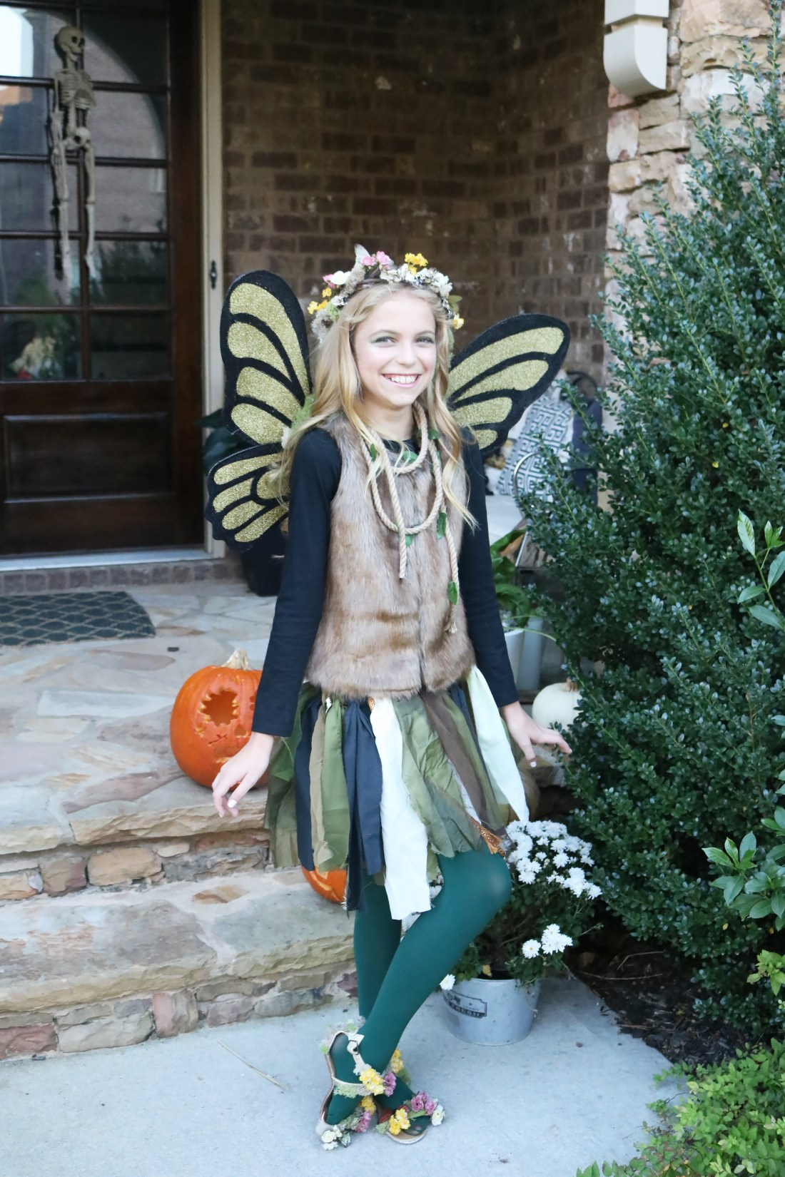 Best Halloween Costumes for Family and Kids, Woodland Fairy, Best Homemade Costumes || Darling Darleen