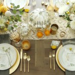 Chic Thanksgiving Table + Free Printable