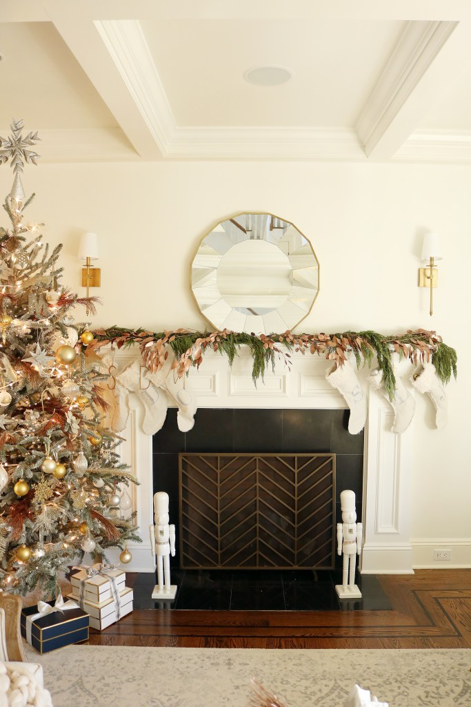 A New England Christmas on a Budget with Simple, DIY decorating ideas | Darling Darleen