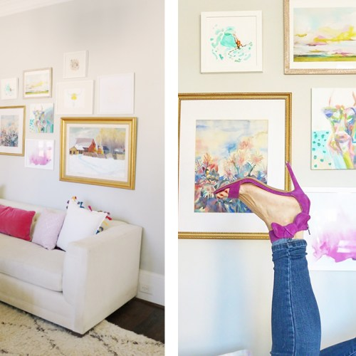 8 Rules for Creating the Perfect Gallery Wall