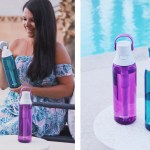 Summer Travel With Brita Filtering Bottle