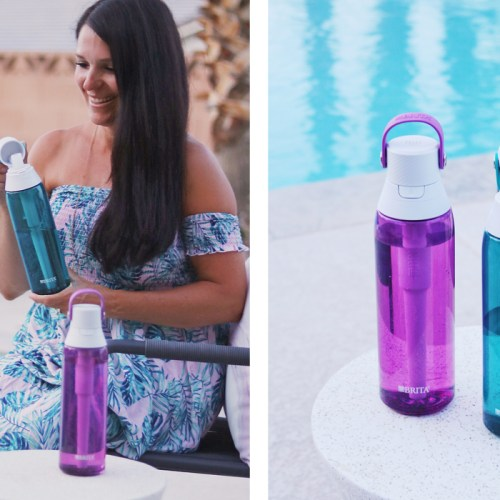 Summer Travel With Brita Filtering Bottle