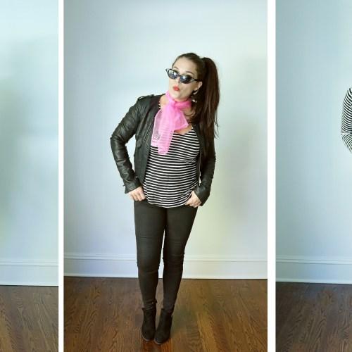 4 Easy Black and White Stripe Costume Ideas