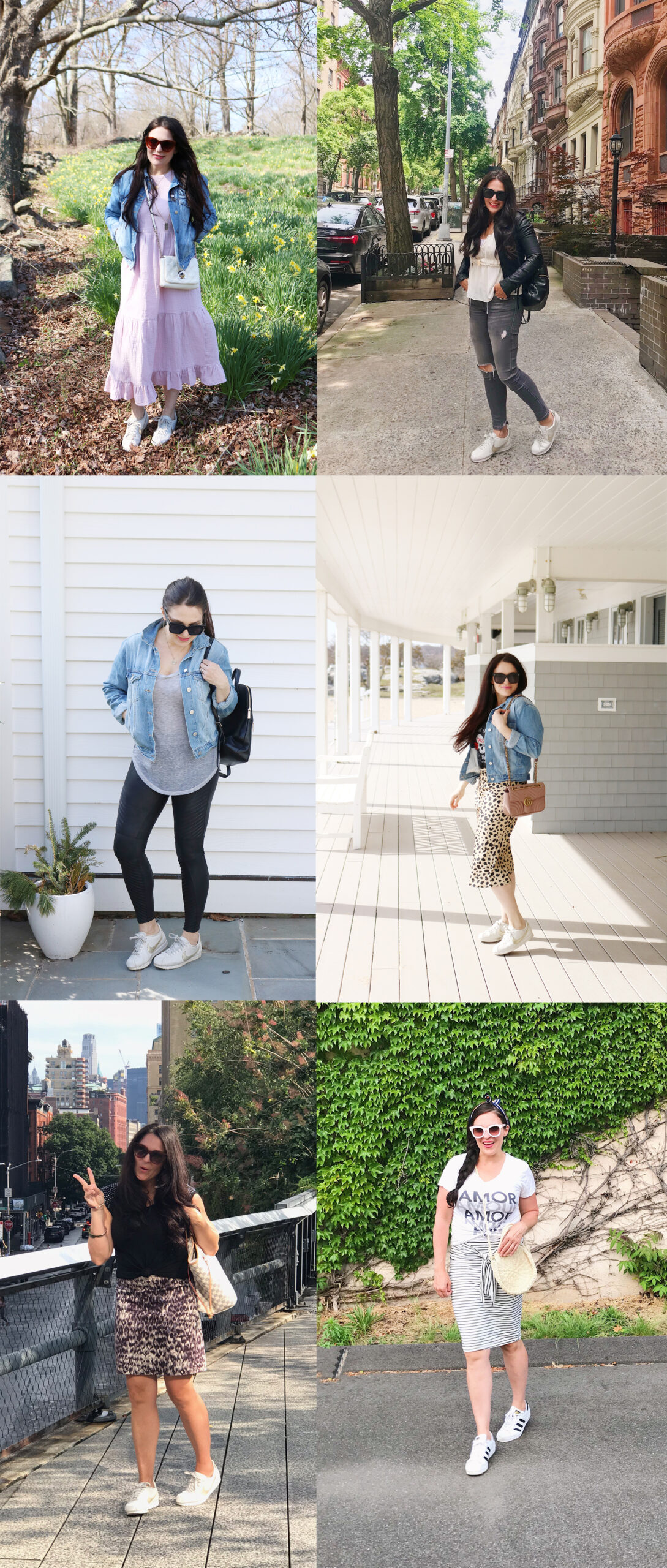 White sneaker outfits and the best sneaker pairs from splurge to save    Darling Darleen Top Connecticut Lifestyle Blogger #whitesneaker