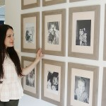 How to hang a Picture grid Gallery