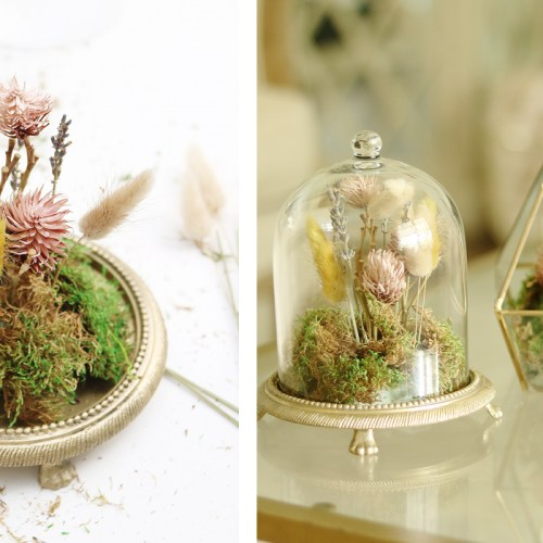DIY Dried Floral Terrarium