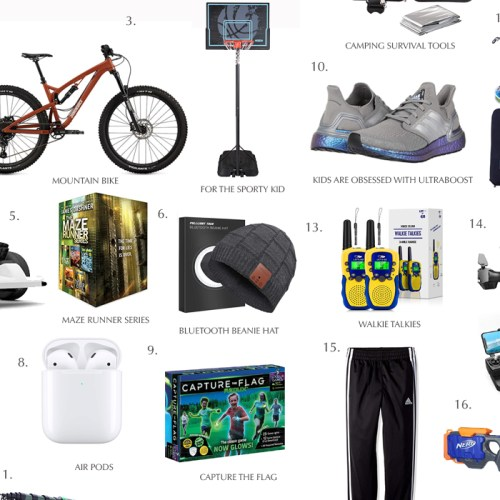GIFT GUIDE For TEENAGE BOYS