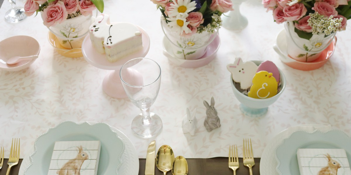 Spring Easter Table