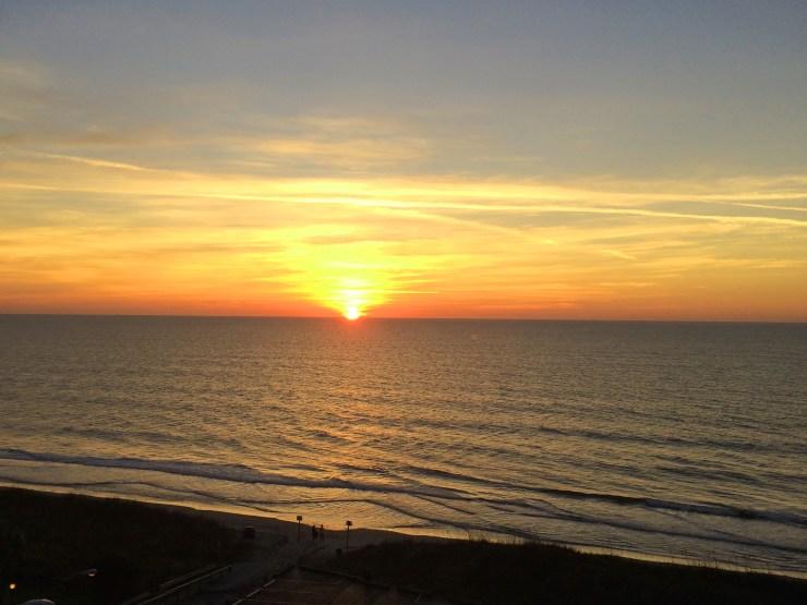 sunrise at myrtle