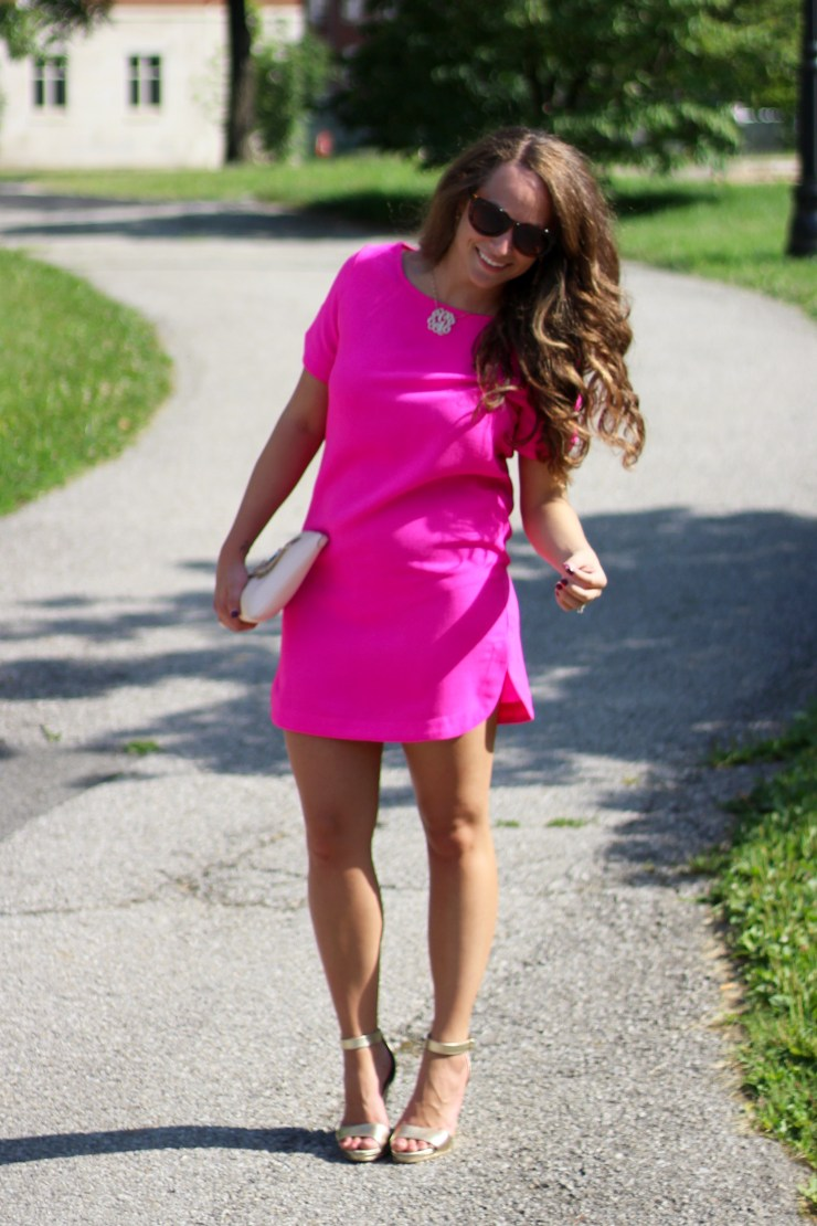 Darling Dearest Hot Pink Dress
