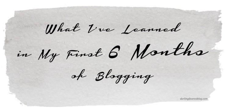 6 months blogging 2