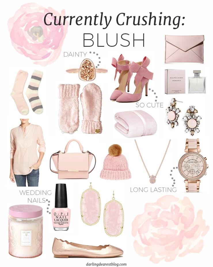 currently crushing blush rose quartz collage