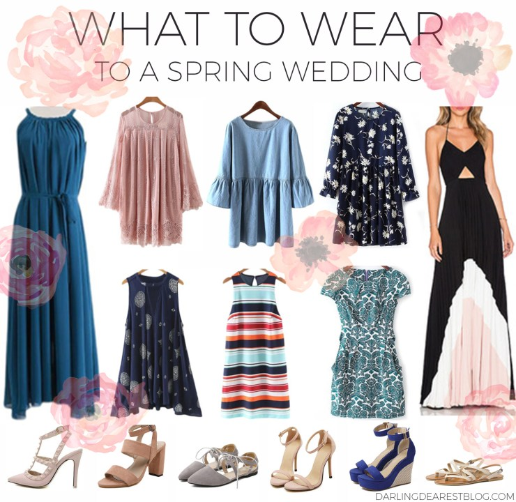 whattoweartoaspringwedding