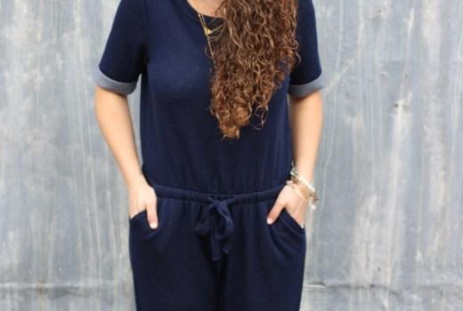 How to wear a jumpsuit on darlingdearestblog.com