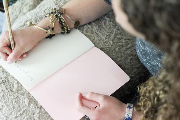 scribble pretty custom hand lettered journal