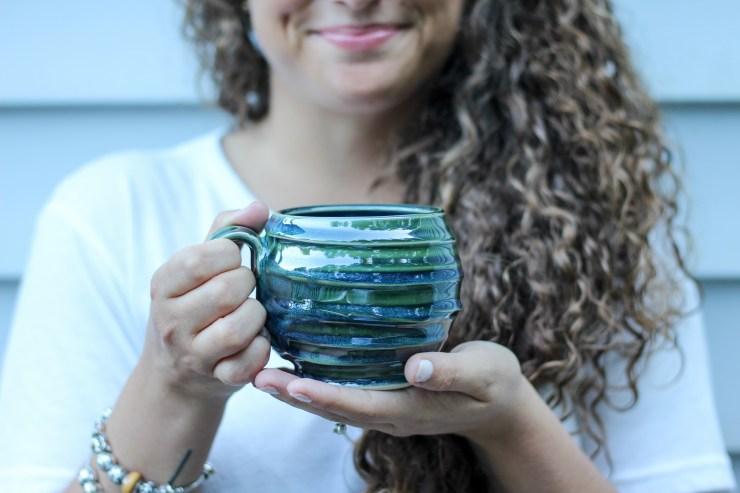handmade and hand glazed ceramic mug, shop small business, jake ford ceramics